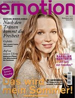 """Zeitschrift """"Emotion"""" 7/2011"""