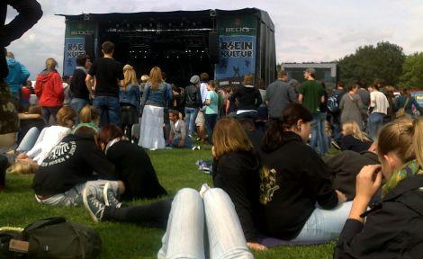 Rheinkultur 2011 – mittags, noch vor dem großen Ansturm