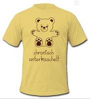 T-Shirt mit dem Unterkuschelt-Bär