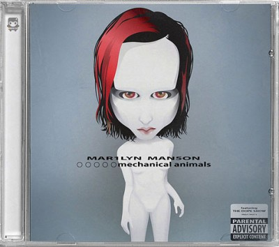 CD-Cover-Tribut – Marilyn Manson (© Elena Lloveria, thecolornaut.com)