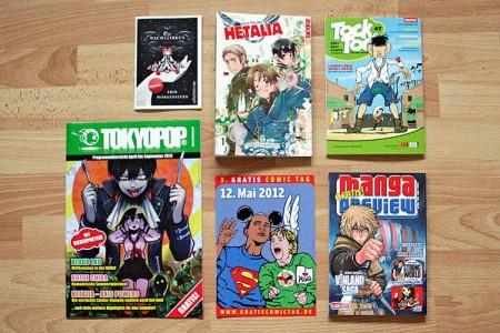 "Manga ""Hetalia"" sowie kostenlose Leseproben"