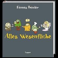 """Buchcover Alles Wesentliche"""" von Hennes Bender"""