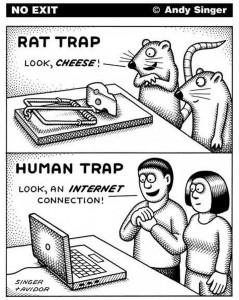 Rattenfalle vs. Menschenfalle
