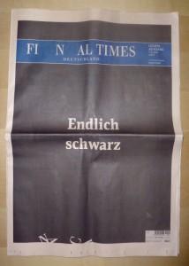 """""""Financial Times Deutschland"""" vom 7.12.2012"""