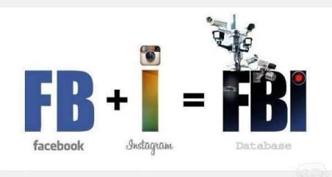 Einfache Rechnung: FaceBook + Instagramm = FBI
