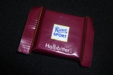 Mini-Rittersport Halbbitter