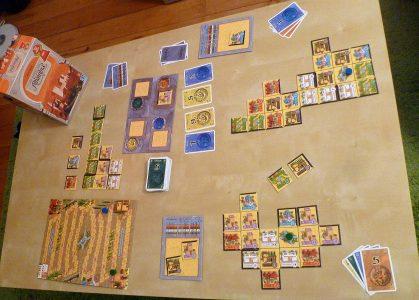 Spieletrödel 2017 - Der Palast von Alhambra