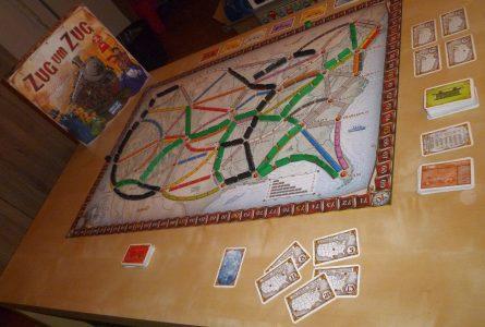 Spieletrödel 2017 - Zug um Zug