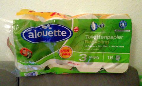 Meine Woche: Januar/Februar 2020 - Toilettenpapier im Vorratspack