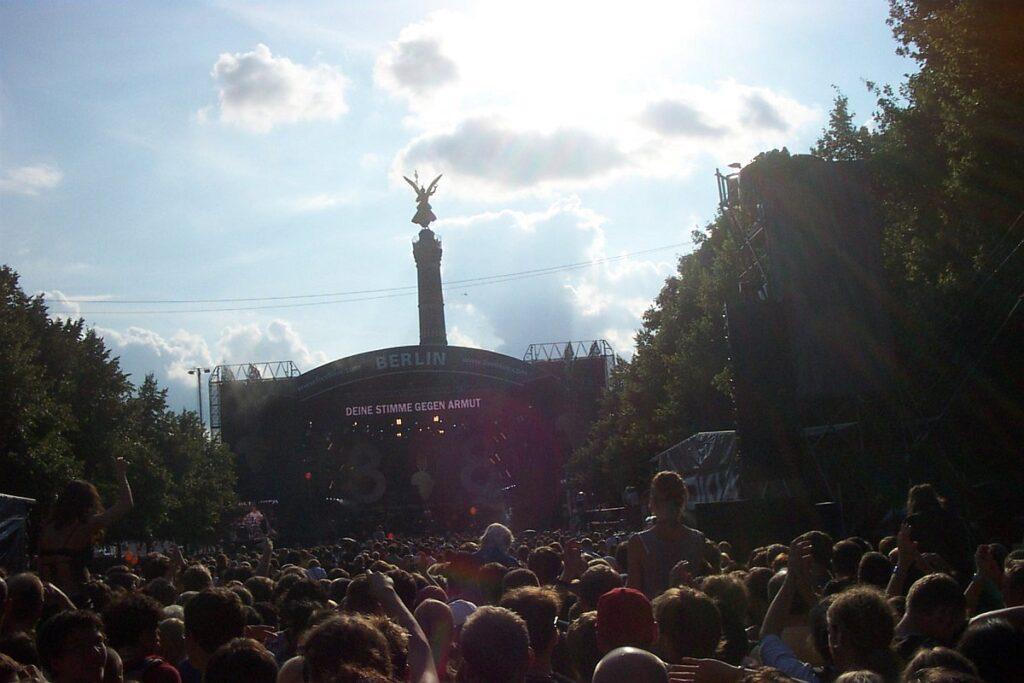 """""""Live 8"""" 2005 in Berlin - mittendrin statt nur dabei"""