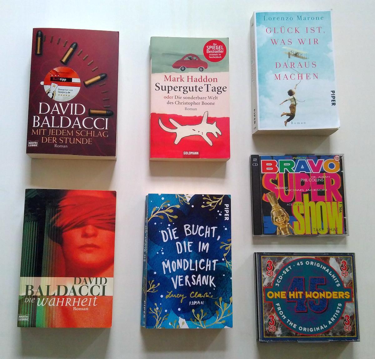 Meine Funde im Bücherschrank