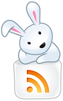 Hase mit RSS-Feed-Icon (© IconDock.com)